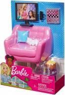 Set mobila de joaca Barbie camera de zi si accesorii