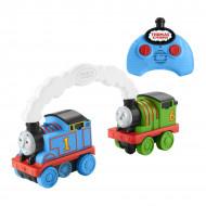 Set se joaca trenulete Thomas si Percy cu telecomanda Thomas & Friends