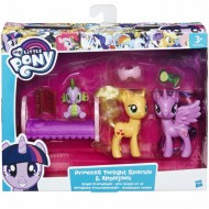 Setul Prieteniei My Little Pony Twilight Sparkle, Applejack si Spike