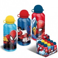 Sticla de aluminiu pentru apa 500 ml Spiderman