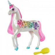 Unicorn cu lumini Magic Barbie Dreamtopia