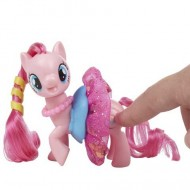 Figurina Pinkie Pie cu rochita My Little Pony:Filmul