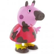 Figurina Peppa Pig Peppa murdara