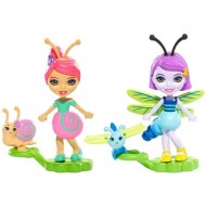 Set figurine Saxon Snail si Dara Dragonfly- EnchanTimals