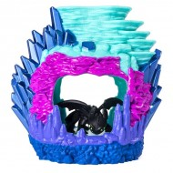 Set de joaca Cum sa-ti dresezi dragonul - Figurina Toothless in pestera