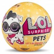 Pachet surpriza cu figurina animalut si accesorii LOL Surprise Pets Seria 3