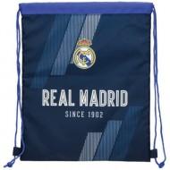 Sac de umar Real Madrid 1902, Bleumarin, 39 cm