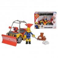 Set de joaca ATV-ul Mercury echipat de iarna al Pompierului Sam