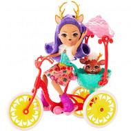 Set de joacă Danessa Deer EnchanTimals - Tricicleta cu doua locuri