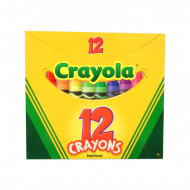 Set 12 creioane cerate Crayola