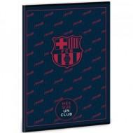 Caiet Dictando FC Barcelona Negru A4