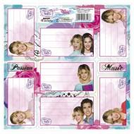 Etichete Caiet Violetta