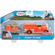 Flynn Trenulet Locomotiva Motorizata cu Vagon Thomas&Friends Track Master