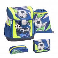 Ghiozdan scoala echipat Belmil Customize me - Fotbal