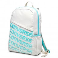 Ghiozdan Speed backpack alb cu turcoaz Converse