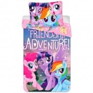 Lenjerie de pat My Little Pony:Friendship Adventure 140x200 cm