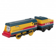 Locomotiva cu Vagon Metalica Rebecca Thomas&Friends Track Master
