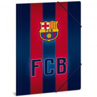 Mapa cu elastic albastru - rosu A4 FC Barcelona