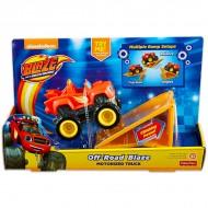 Masinuta Blaze Motorizata cu rampa- Blaze and the Monster Machines