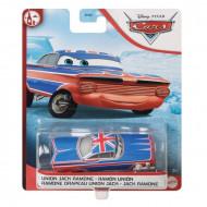 Masinuta Metalica Ramone cu steagul Angliei 1/55 Cars Disney