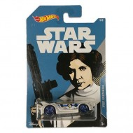 Masinuta Printesa Leia 1/64 Hot Wheels Star Wars Character Cars  8 cm