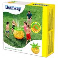 Minge gonflabila cu sistem de pulverizare apa in forma de ananas Bestway