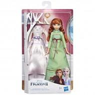 Papusa Anna cu rochie de schimb Frozen 2