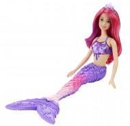 Papusa Barbie Sirena Diamant Dreamtopia