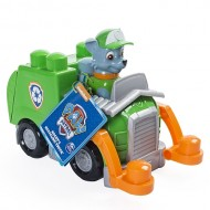Rocky Set Cuburi si Camion de Reciclare Patrula Catelusilor Junior