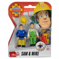 Set 2 Figurine Sam Pompierul - Sam si Mike