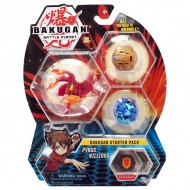 Set Bakugan Start figurina Pyrus Nillious