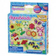 Set creativ Aquabeads - Gradina cu flori