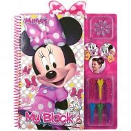 Set creativ pentru colorat Minnie Mouse