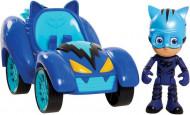 Set de joaca Eroi în Pijama, masinuta Hero Blast (Cat Car) si figurina Pisoi (Catboy)