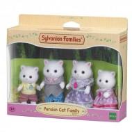 Set de joaca familia pisicutelor Persane Sylvanian Families