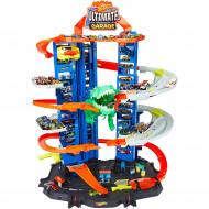 Set de joaca Hot Wheels - Ultimate garage cu doua masinute incluse