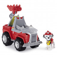 Set de joaca Marshall si Super vehiculul Rev-Up Paw Patrol Dino Rescue - Patrula Catelusilor