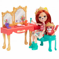 Set de joaca Masuta de machiaj Enchantimals Royal