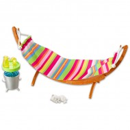 Set de joaca Relaxarea in hamac Barbie