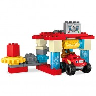 Set De Joaca Spalatoria Din Axel City Mega Bloks - Blaze and the Monster Machines