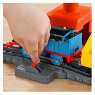 Set de joaca Thomas and Friends Track Master - Circuit Thomas si macaraua Cassia