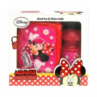 Set de pranz Minnie Mouse Rosu
