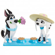 Set Figurine Dolly si Hansel Strada Dalmatieni 101 Disney