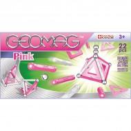 Set Geomag Magnetic Pink 22 de piese