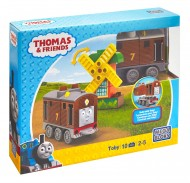 Set Locomotiva Toby si Moara Thomas And Friends Mega Bloks