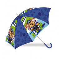 Umbrela automata albastra Chase Patrula Catelusilor 45 cm