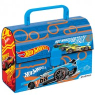 Cutie de pranz albastra Hot Wheels
