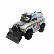 Masina de politie cu lumini si sunete 15 cm Dickie Toys