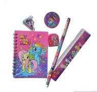 Set 6 instrumente de scris My Little Pony