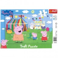 Puzzle Peppa Pig 15 piese